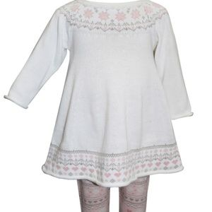 Blueberi Boulevard Fairisle Sweaterdress Set